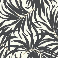 Swatch of the Day! Yes, please to @york_wallcoverings Bali Leaves wall paper. We could stare at this all day... you?