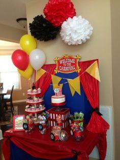 Jake's 6th birthday carnival  | CatchMyParty.com