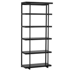 Flat-Bar Bookcase | west elm - for the living room