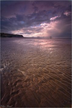 Arromanches Beach, Natural Infinity by Philippe Albanel, www.philippe-albanel.com