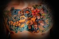 Let It Be… The Best Beatles Tattoos This Side of Abbey Road - Beste Tattoo Ideen Up Tattoos, Badass Tattoos, Body Art Tattoos, Cool Tattoos, Tattoo Ink, Tatoos, Beatles Songs, Les Beatles, Abbey Road