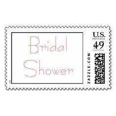 Bridal Shower Stamps