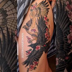 Tattoo by Justin Hartman
