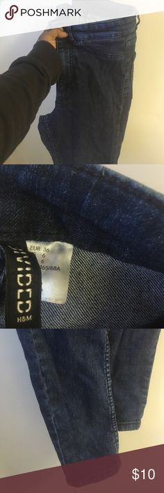 High waisted skinny jeans Good condition H&M Jeans Skinny
