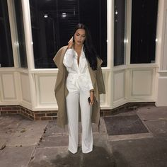 Rebellious Fashion/ Sorelleuk #cruiseessentials Date Outfits, Cool Outfits, Hijab Fashion, Fashion Outfits, Stitch Fix Outfits, Work Attire, Casual Chic, Autumn Winter Fashion, Classy