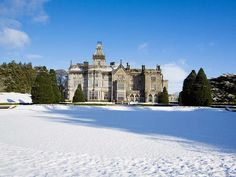 If I could go ANYWHERE for my honeymoon, it would be the Adare Manor House in Limerick, Ireland.