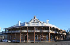 Former Grand Western Lodge, Millthorpe, NSW.
