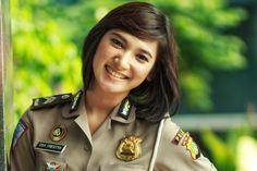 Eka Frestya    #Polwan #cantik #Polisi #Indonesia