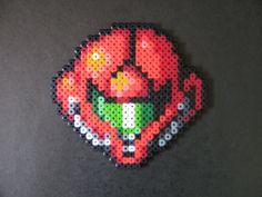 Omega Metroid in Perler by AlyciaZU on deviantART