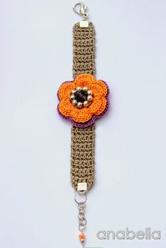 Pure Pinspiration by anabelia! ☀CQ #crochet #jewelry http://www.pinterest.com/CoronaQueen/crochet-jewelry-corona/