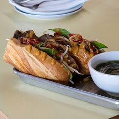 A guide to America's best sandwiches, from chicken parm to pulled pork. Best Sandwich, Sandwich Recipes, Pesto, Fried Chicken Sandwich, Vietnamese Recipes, Vietnamese Sandwich, Vietnamese Food, Brisket Sandwich, Wraps
