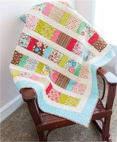 Riley Blake Designs Blog: RBD Post Quilt Market Blog Tour: Happy Flappers fabric collection designed by Kelly Panacci. This quilt has a free downloadable pattern available at https://www.rileyblakedesigns.com/free_quilting_projects/ #rileyblakedesigns #kellypanacci #happyflappers #freequiltpattern