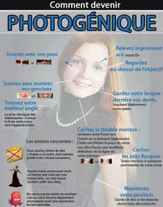 10 astuces pour être plus photogénique - Astuces de grand mère Note this tip Sometimes, it is beautiful to be beautiful, to style your hair carefully and to wear pretty clothes, but in the photo