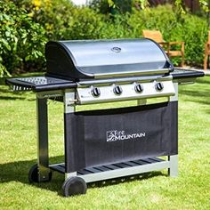 Fire Mountain 4 Burner Everest Gas Barbecue BBQ