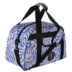 In our beautiful Dream Catcher tie-dye print, this stylish gym bag blends blue, white and soft pink hues with contrasting black straps and zips. Safely transport everything you need to and from the gym or events including towel, trainers, toiletries, clothes and water bottle.  The generous internal pocket provides storage for valuables with a separate front pouch for quick access items. Also, fab for mini-breaks and jetting off for the weekend... it's the dream holdall. Beautiful Dream Catchers, Gym Bags, Separate, Trainers, Tie Dye, Water Bottle, Towel, Pouch, Events