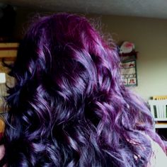 Colored my hair PURPLE!!!