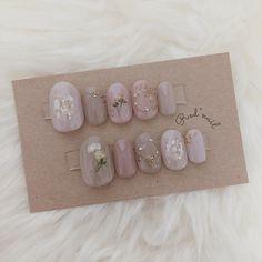 Soft Nails, Red Nails, Purple Nails, Pastel Nails, Bling Nails, Korean Nail Art, Korean Nails, Red Nail Designs, Nail Polish Designs