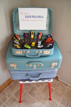 The Humble Abode: Planes, Trains, and Automobiles- Burke's 2nd birthday party