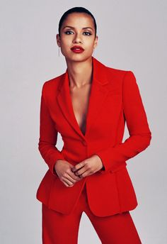 """Gugu Mbatha-Raw photographed by Gavin Bond for Angeleno Magazine (outtakes) """"I do think quite carefully about the projects that I choose and what the message is. Mbatha Raw, Black Girls Rock, Costume, Famous Women, Black Is Beautiful, Chic, Style Icons, Black Women, Style Me"""