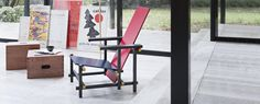 635 RED AND BLUE - Gerrit Thomas Rietveld | Cassina