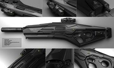 concept sci fi rifles | DEWI - Black version by peterku on deviantART