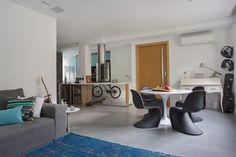 Projeto e Execução: Ketlein Amorim Arquitetura e Design #sala #salaintegrada