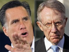 Romney Tells Harry Reid To 'Put Up Or Shut Up' About Tax Returns [Reid is a serial liar and everyone knows it]