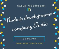 Nodejs india web application development company based in gurgaon serve all over the globe provide Node.js Development Services with an assurance of guiding you about cutting-edge technology to reach scalability.  Visit site for more information: http://www.nodejsindia.com/