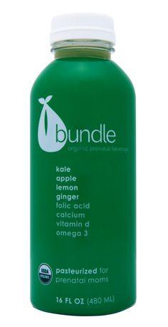 Kale, Apple, Lemon and Ginger Organic Prenatal Juice