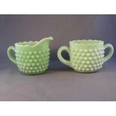 hobnail AND jadeite together. Love by tammi