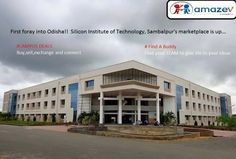 First foray into Odisha! welcome to Silicon Institute of Technology, Sambalpur.we are happy to reach you guys. And now Silicon Institute of Technology marketplace is up.now you people can buy,sell,exchange your used books in your campus.#FAB have any project / event /idea in your mind ? like FB page https://www.facebook.com/AmazeVindia then why are you waiting for, Lets Team together with people interested on your idea in your campus itself.