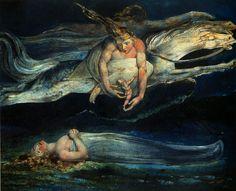 William Blake-Pity1795-Gonca   Ey kıpır kıpır Serçe!  Yeşil yapraklar altında…