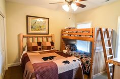 Lovely bedrooms large enough to fit in a bunkbed and double bed! Built in wardrobes, good sized windows for natural sunlight and more! For more info or to book a viewing please contact Rick Andrews 706-970-7120 or email info@bestmountaindeals.com