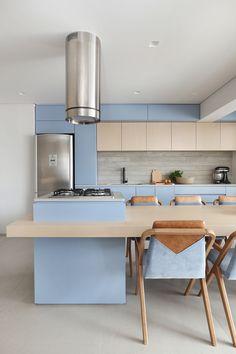 - home - Diy Kitchen Storage, Home Decor Kitchen, Kitchen Furniture, Home Kitchens, Modern Kitchen Design, Interior Design Kitchen, Home Room Design, House Design, Kitchen Layout Plans