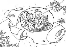 Digit from Cyberchase coloring pages for kids, printable free ...