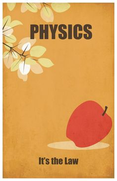 Physics: It's the Law // poster print by EskimoChateau