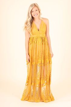$49 DIVE INTO SUMMER LACE MAXI DRESS