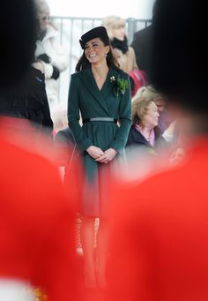 The Duchess Of Cambridge Visits The Irish Guards On Their St Patrick's Day Parade
