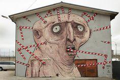 Nemo's - Italian Street Artist - Bonito (IT) - 12/2014 - |\*/| #nemo's #streetart