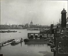 St Paul's Cathedral from Waterloo Bridge, c. 1920