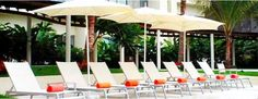 Loungers at #NowAmber #PuertoVallarta! #relaxation #vacation #getaway #unlimitedluxury