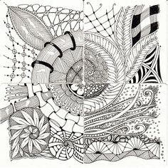 Zentangling: Presenting Shelly Beauch's Zentangles
