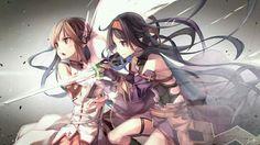 Asuna using Mother's Rosario & Yuuki, Sword Art Online