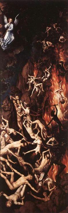 Last Judgment (detail) Hans Memling, 1467-1471 National Museum, Gdańsk, Poland.