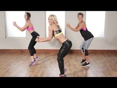The 25 Minute Cardio Dance Workout Celebs Use to Stay Toned | Class FitSugar - YouTube