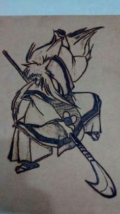 Samurai Teatro Kabuki.