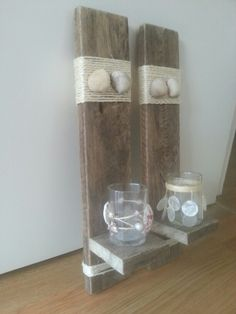 Wanddecoratie gemaakt van pallethout! Neem eens kijkje op fb-pagina Pallet and Home Decorations!