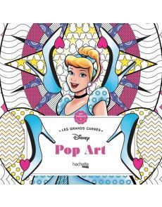 Grands Carrés Disney Pop Art - Coloriages anti-stress - Nathalie Lavaud
