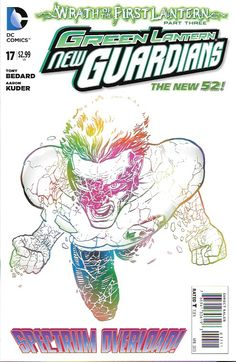 Green Lantern: New Guardians # 17 DC Comics The New 52!
