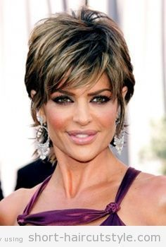 Short Hairstyles Women Over 50 | short shaggy hairstyles for women over 50 with thick hair
